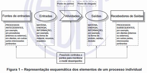 Figura 1 - Representação esquemática dos elementos de um processo individual