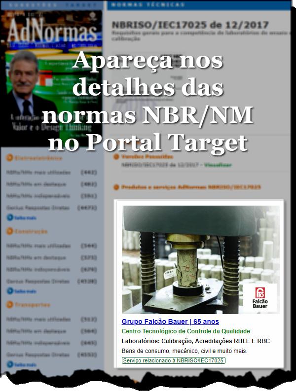 Detalhe NBR/NM - Portal Target