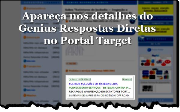 Detalhe Genius - Portal Target