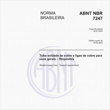 NBR7247 de 07/2004