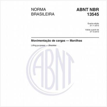 NBR13545 de 11/2012