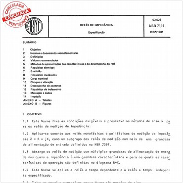 NBR7114 de 12/1981
