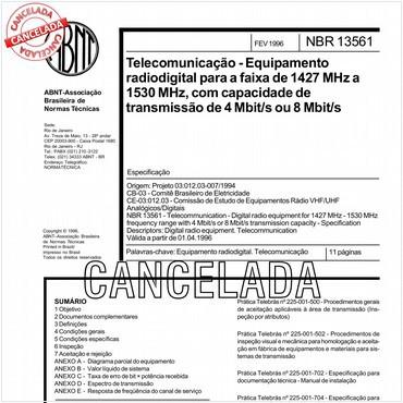 NBR13561 de 02/1996