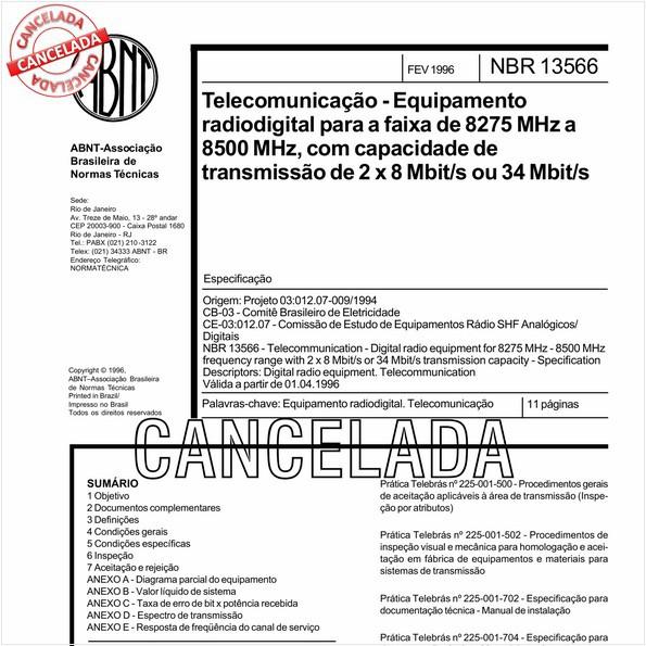NBR13566 de 10/2012