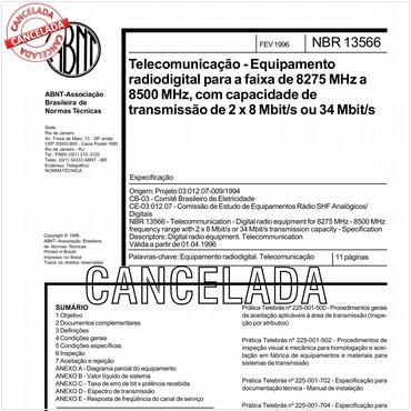 NBR13566 de 02/1996