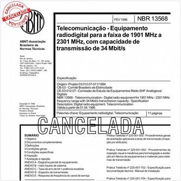 NBR13568 de 02/1996