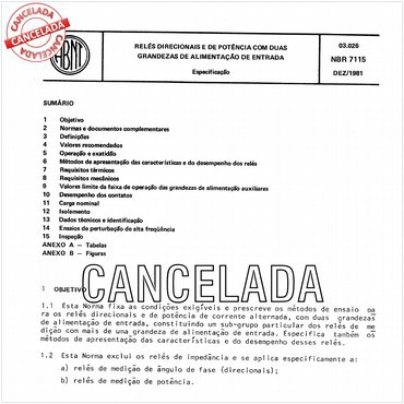 NBR7115 de 12/1981