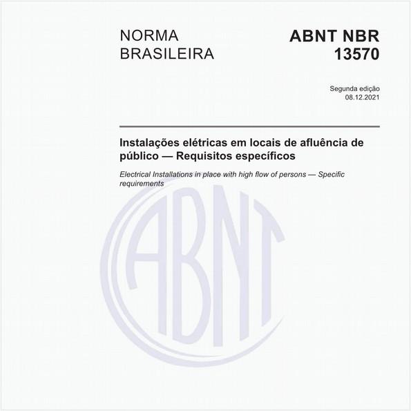 NBR13570 de 02/1996
