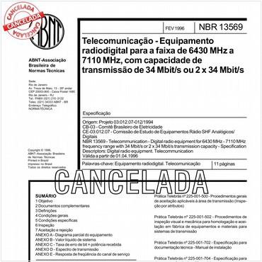 NBR13569 de 02/1996
