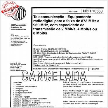 NBR13563 de 02/1996