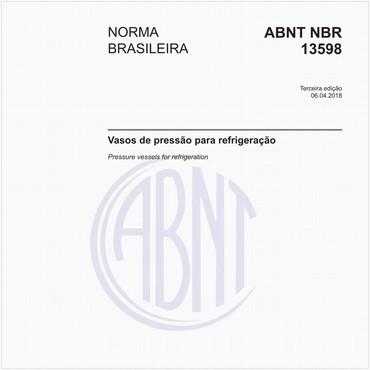 NBR13598 de 04/2018