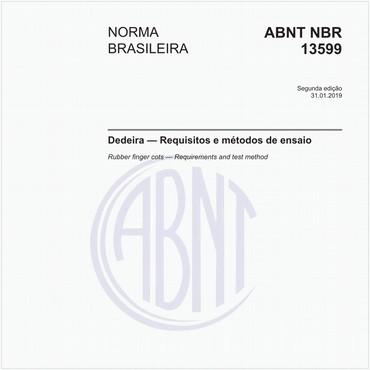 NBR13599 de 01/2019