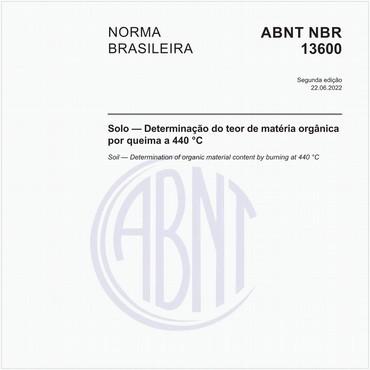 NBR13600 de 05/1996