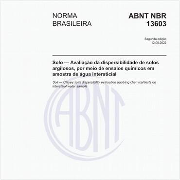 NBR13603 de 05/1996