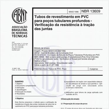 NBR13609 de 05/1996