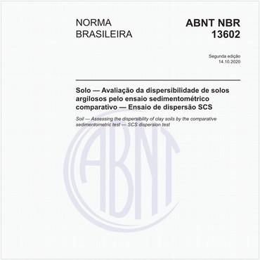 NBR13602 de 05/1996