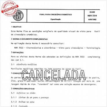 NBR7314 de 04/1982