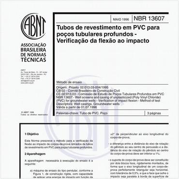 NBR13607 de 05/1996