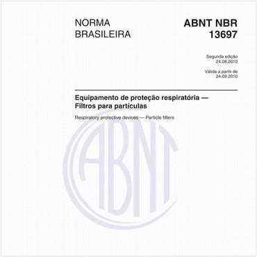 NBR13697 de 08/2010