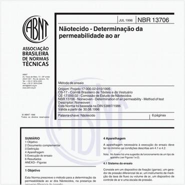 NBR13706 de 07/1996