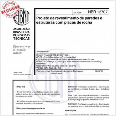 NBR13707 de 07/1996