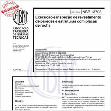 NBR13708 de 07/1996