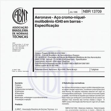 NBR13709 de 07/1996