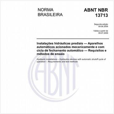 NBR13713 de 06/2009