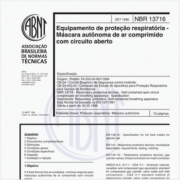NBR13716 de 09/1996