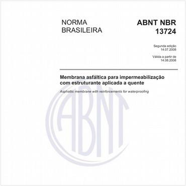 NBR13724 de 07/2008