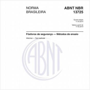 NBR13725 de 04/2014