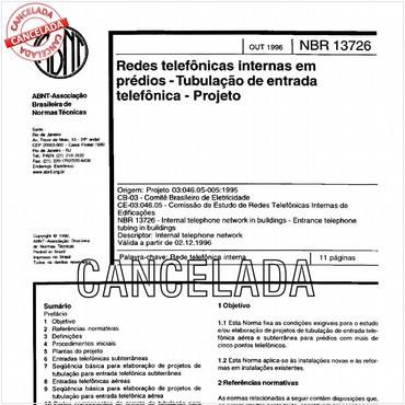 NBR13726 de 10/1996