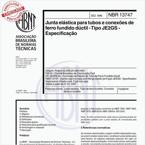NBR13747 de 12/1996