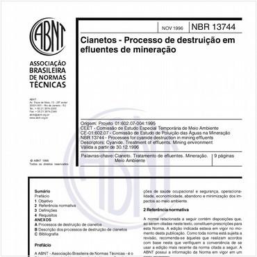 NBR13744 de 11/1996
