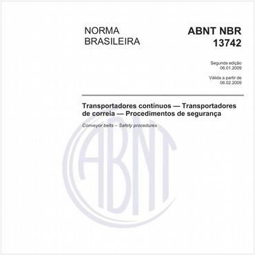 NBR13742 de 01/2009