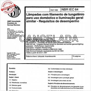 NBRIEC60064 de 12/1996