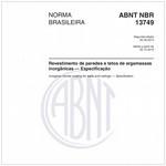 NBR13749 de 09/2013