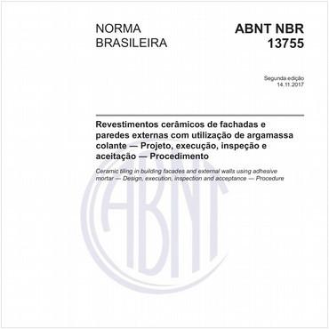 NBR13755 de 11/2017