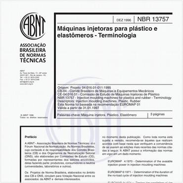 NBR13757 de 12/1996