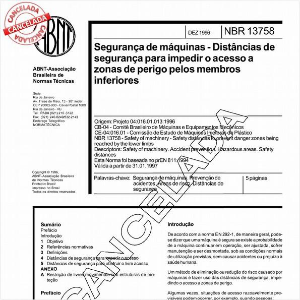 NBR13758 de 11/2003