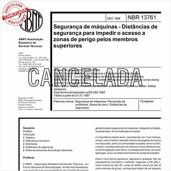 NBR13761 de 05/2003
