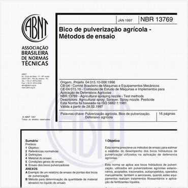 NBR13769 de 01/1997
