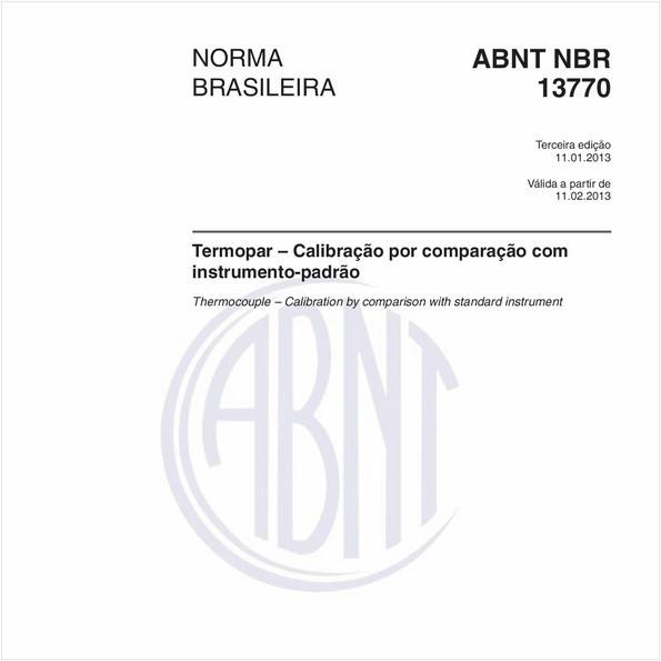 Termopar – Calibração por comparação com instrumento-padrão