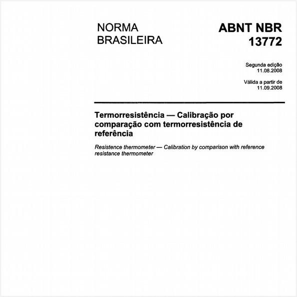 Termorresistência - Calibração por comparação com termorresistência de referência