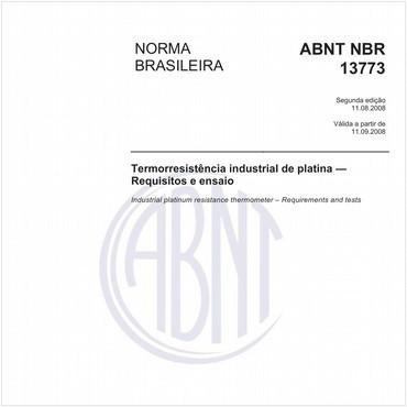 NBR13773 de 08/2008