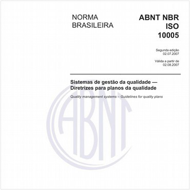 NBRISO10005 de 07/2007