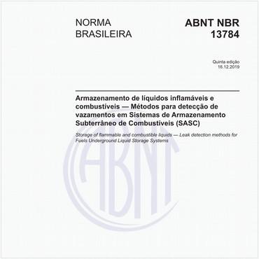 NBR13784 de 12/2019