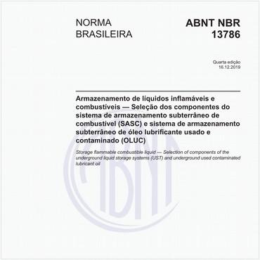 NBR13786 de 11/2014