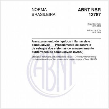 NBR13787 de 11/2013