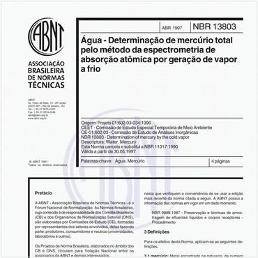 NBR13803 de 04/1997